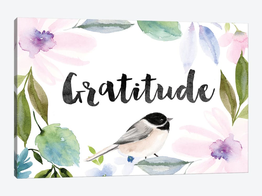 Gratitude by Stephanie Ryan 1-piece Canvas Wall Art