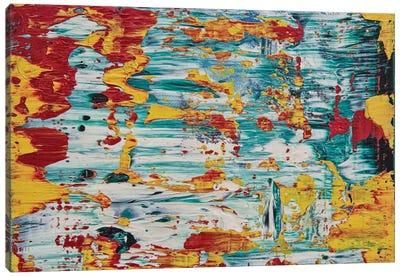 Blown Canvas Art Print