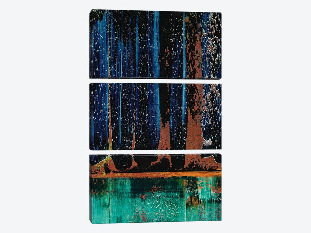Intergalactic by Spencer Rogers 3-piece Art Print