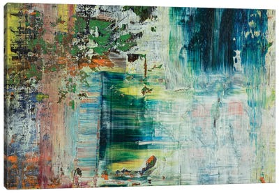 John Cougar Canvas Art Print
