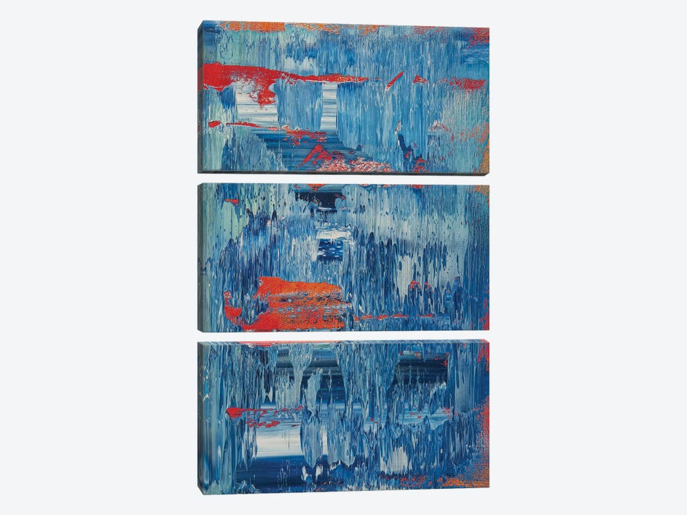 A Train by Spencer Rogers 3-piece Canvas Wall Art