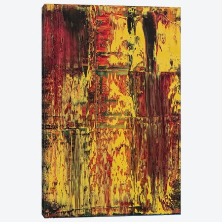 Rasta Canvas Print #SPO55} by Spencer Rogers Art Print