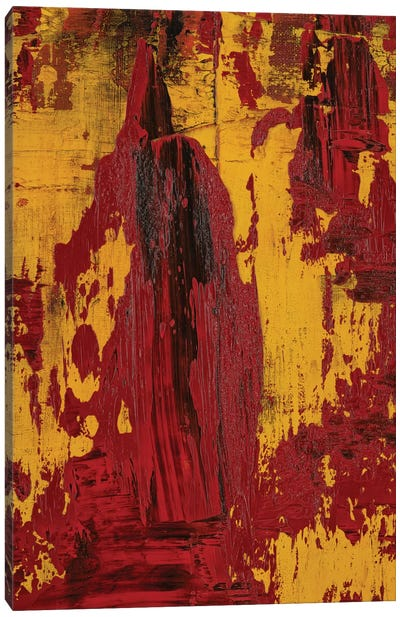 The Man Comes Around Canvas Art Print
