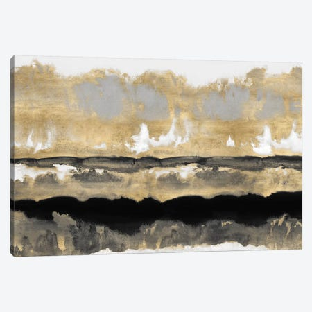 Golden Undertones I Canvas Print #SPR12} by Rachel Springer Canvas Art Print