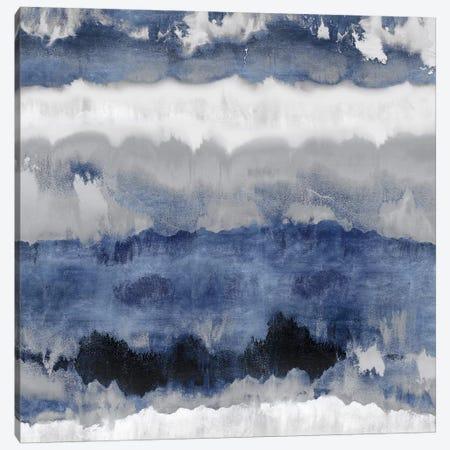 Indigo Gradations Canvas Print #SPR15} by Rachel Springer Canvas Art
