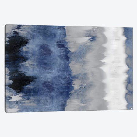 Resonate - Indigo Canvas Print #SPR26} by Rachel Springer Canvas Art Print