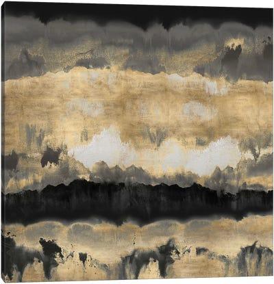 Spectrum In Gold & Black Canvas Print #SPR28