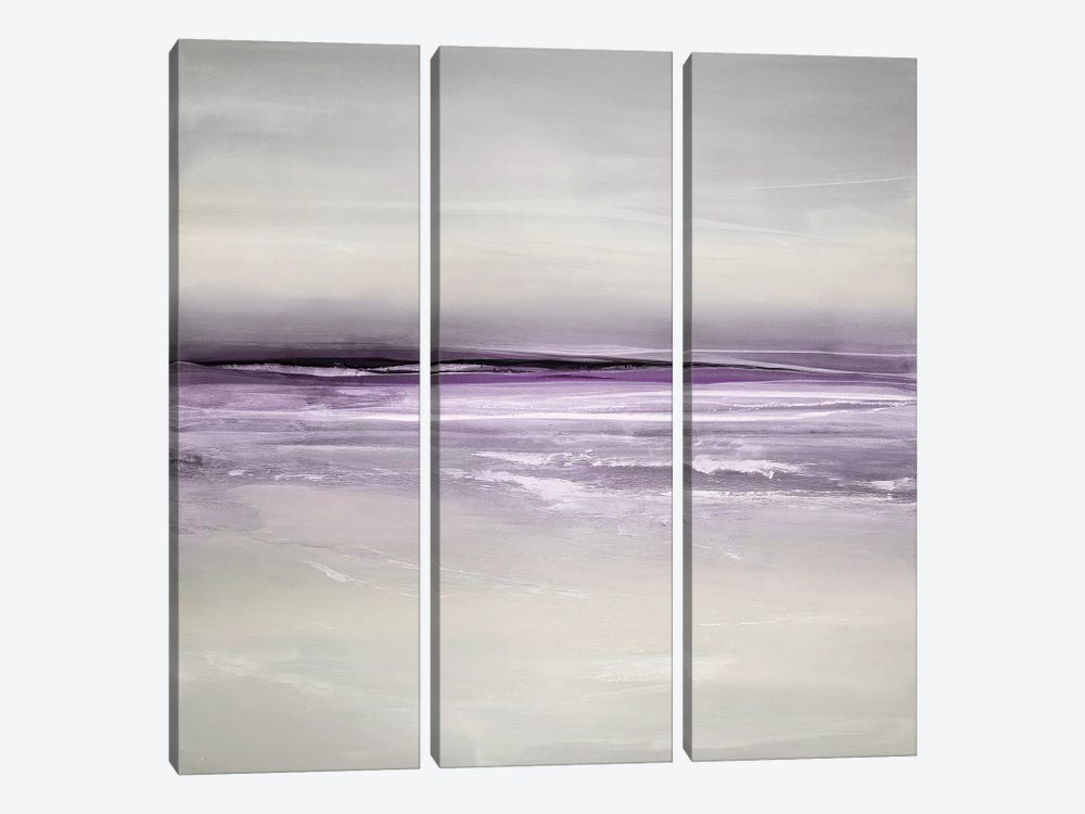 Sway In Amethyst by Rachel Springer 3-piece Canvas Print
