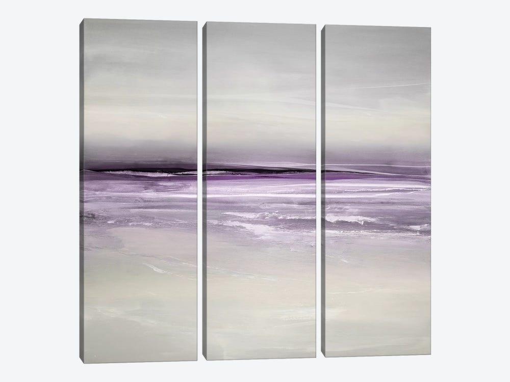 Sway In Amethyst by Rachel Springer 3-piece Canvas Print