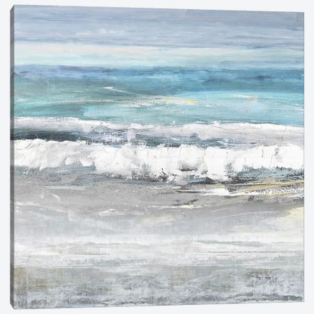 Tides I Canvas Print #SPR35} by Rachel Springer Canvas Artwork