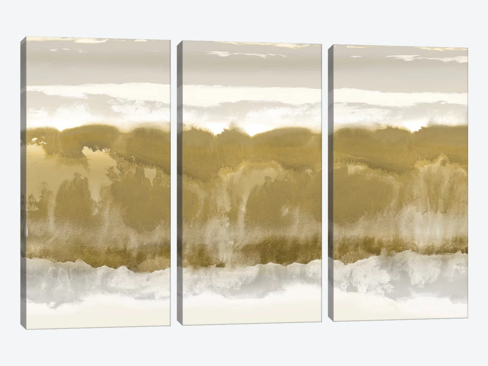Undertone by Rachel Springer 3-piece Canvas Art Print