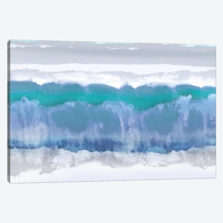 Undertones In Blue Canvas Print #SPR39} by Rachel Springer Canvas Print