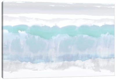 Aqua Undertones Canvas Print #SPR3