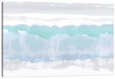 Aqua Undertones Canvas Art Print