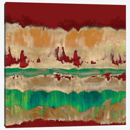Wholeheartedly In Red Canvas Print #SPR43} by Rachel Springer Canvas Art