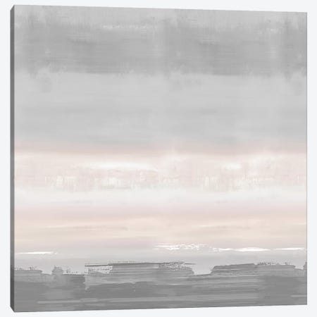 Blush Horizon Canvas Print #SPR47} by Rachel Springer Art Print