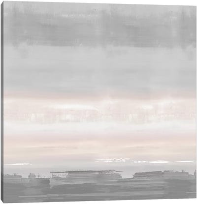 Blush Horizon Canvas Art Print