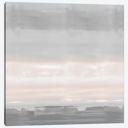 Blush Horizon Canvas Print #SPR47} by Rachel Springer Art Print