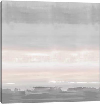 Blush Horizon Canvas Art Print