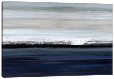 At The Edge Canvas Art Print