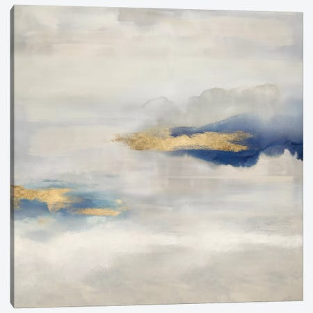 Ethereal with Blue IV Canvas Print #SPR52} by Rachel Springer Canvas Print