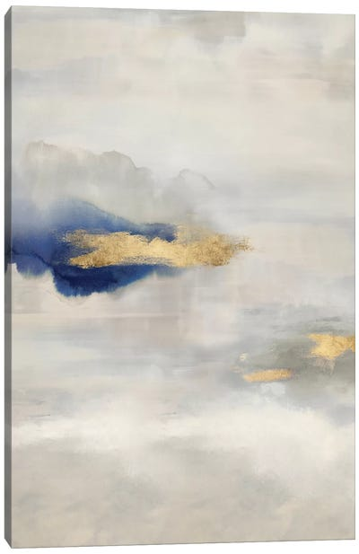 Ethereal with Blue V Canvas Art Print