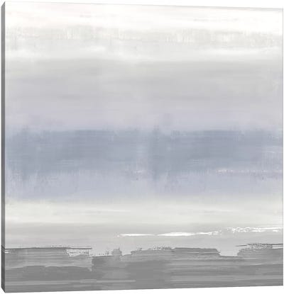 Gray on Gray Canvas Art Print