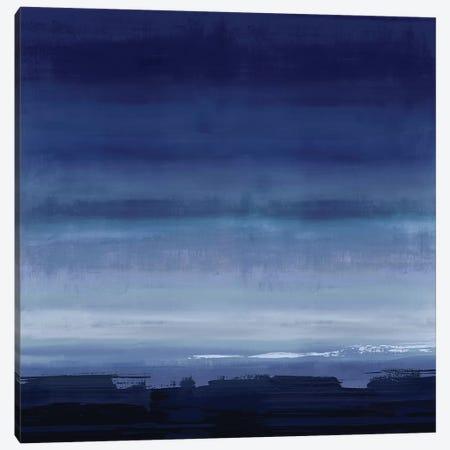 Midnight Blue Canvas Print #SPR57} by Rachel Springer Canvas Wall Art
