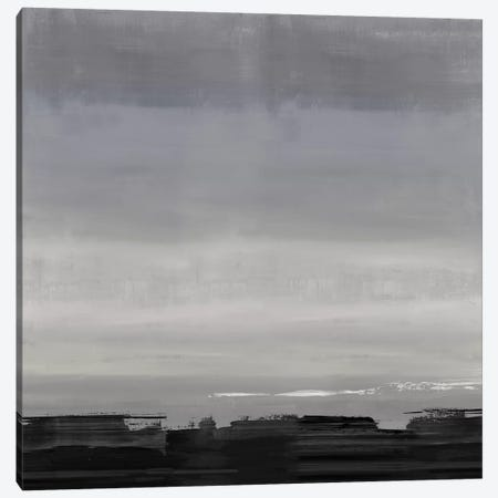 Midnight Horizon I Canvas Print #SPR58} by Rachel Springer Art Print