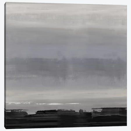 Midnight Horizon II Canvas Print #SPR59} by Rachel Springer Art Print