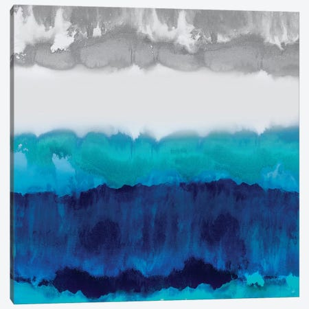 Blue Spectrum Canvas Print #SPR5} by Rachel Springer Canvas Artwork