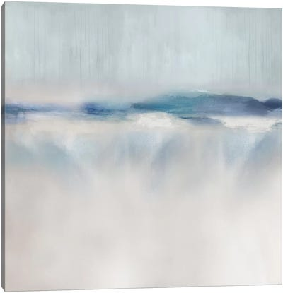 Suspend in Aqua II Canvas Art Print