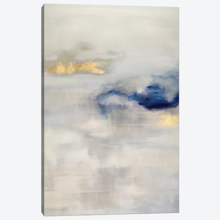 Ethereal with Blue I Canvas Print #SPR66} by Rachel Springer Canvas Art Print