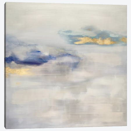 Ethereal with Blue II Canvas Print #SPR67} by Rachel Springer Canvas Print