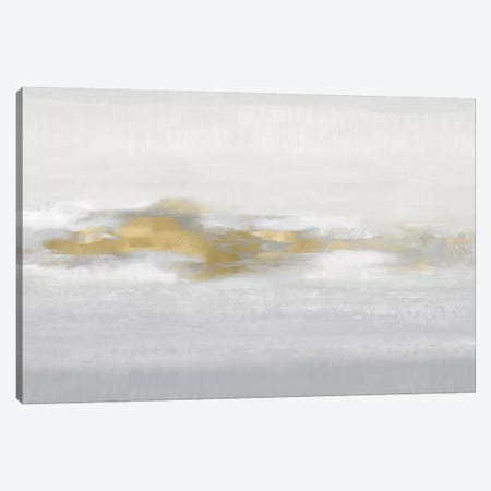 Ethereal with Gold I Canvas Print #SPR68} by Rachel Springer Canvas Art