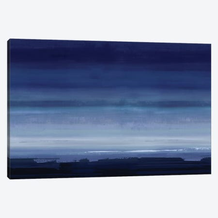 Highlight Indigo Canvas Print #SPR77} by Rachel Springer Canvas Art