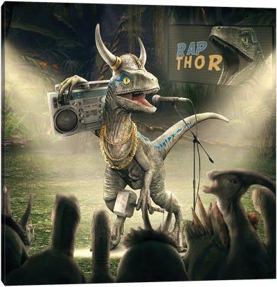 Rap Thor Canvas Art Print