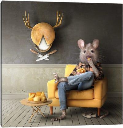 Home Fairytale: The Mouse Canvas Art Print