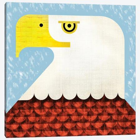 Bald Eagle Canvas Print #SPT4} by Scott Partridge Canvas Artwork