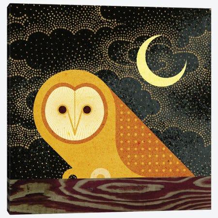 Barn Owl Canvas Print #SPT5} by Scott Partridge Canvas Art