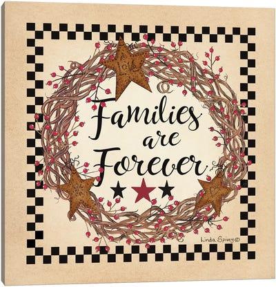 Family Wreath Canvas Art Print