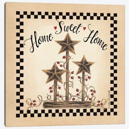 Home Sweet Home Canvas Print #SPV19} by Linda Spivey Canvas Art Print