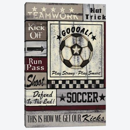 Soccer Goal Canvas Print #SPV24} by Linda Spivey Canvas Art Print