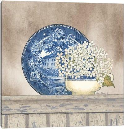 Farmhouse Blues I Canvas Art Print