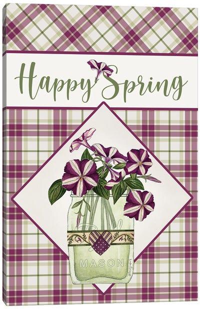 Happy Spring Canvas Art Print