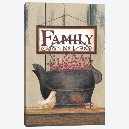 Family No. 1 Canvas Print #SPV7} by Linda Spivey Canvas Artwork