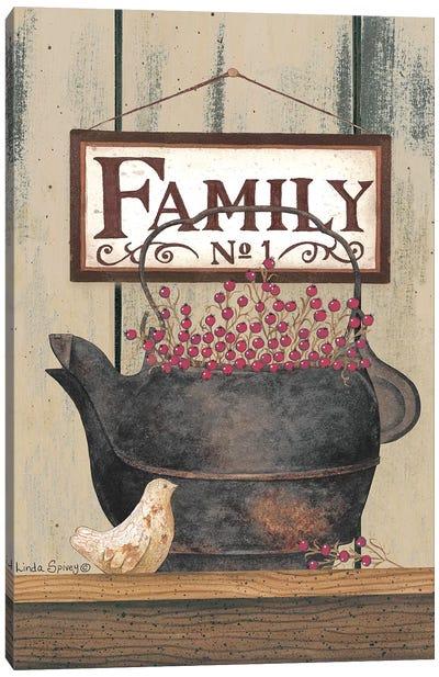 Family No. 1 Canvas Art Print