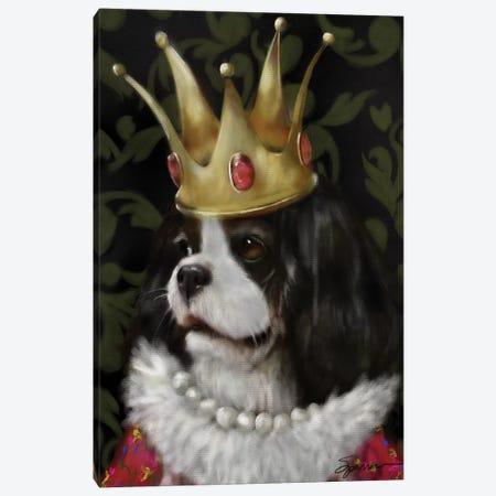 Queenie Canvas Print #SPW215} by Mary Sparrow Canvas Artwork