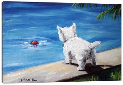 Red Ball Canvas Art Print