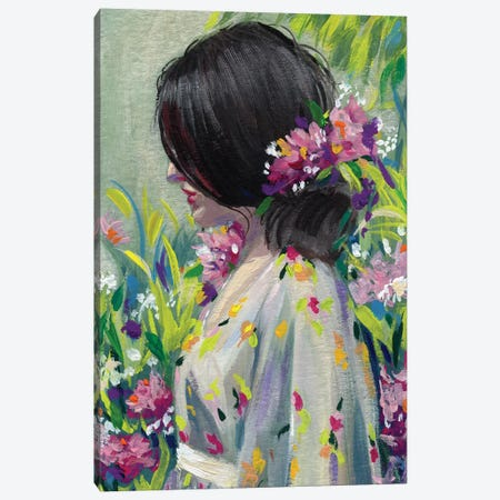 Garden Canvas Print #SPW269} by Mary Sparrow Canvas Art